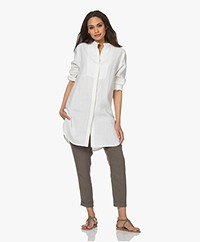 Woman by Earn Shiva Linen Blouse - Off-white
