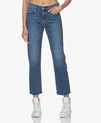 FRAME Le Nouveau Straight Stretch Jeans - Rodeo Blue