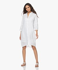 Josephine & Co Lorenne Linen Shirt Dress - White