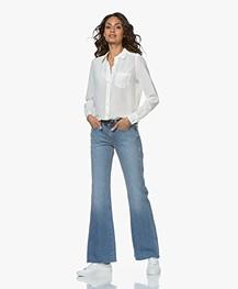 Current/Elliott The Wray Flared Jeans - Fairwater