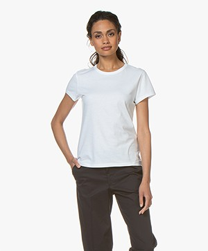 Filippa K Flared Cap Sleeve T-shirt - Wit