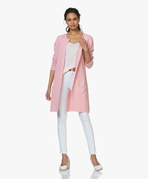 Sibin/Linnebjerg Mary Merinomix Open Vest - Blossom Pink