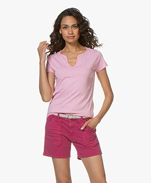 Zadig & Voltaire Tunisien Girls Can Do Anything T-shirt - Rose Yves