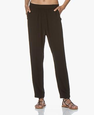 BRAEZ Cotton Loose-fit Pants - Black