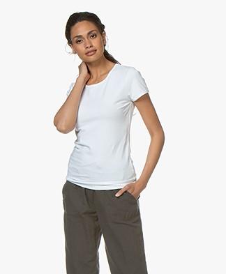 Filippa K Soft Lycra T-Shirt - Wit