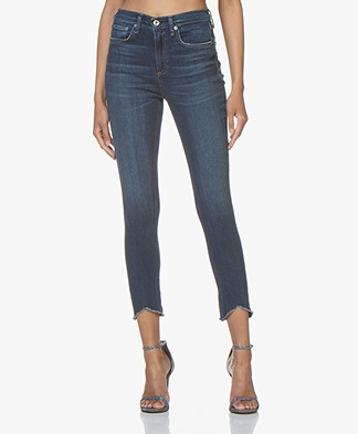 Rag & Bone High Rise Ankle Skinny Jeans - Lenox