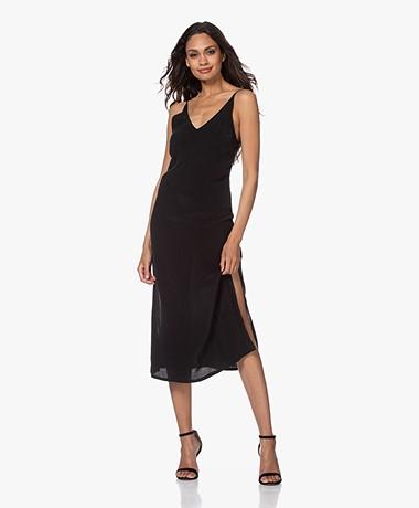 Denham Monica Cupromix Slip Dress - Zwart