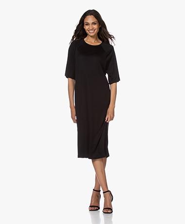 Filippa K Mira Lyocell T-shirt Dress - Black