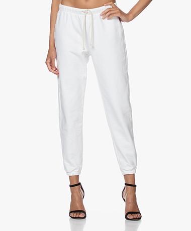 American Vintage Wititi Cotton Sweatpants - White