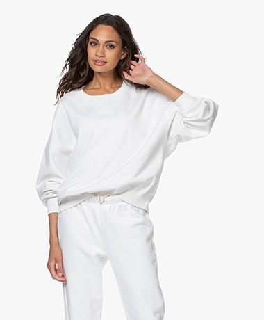 American Vintage Wititi Oversized Sweatshirt - White