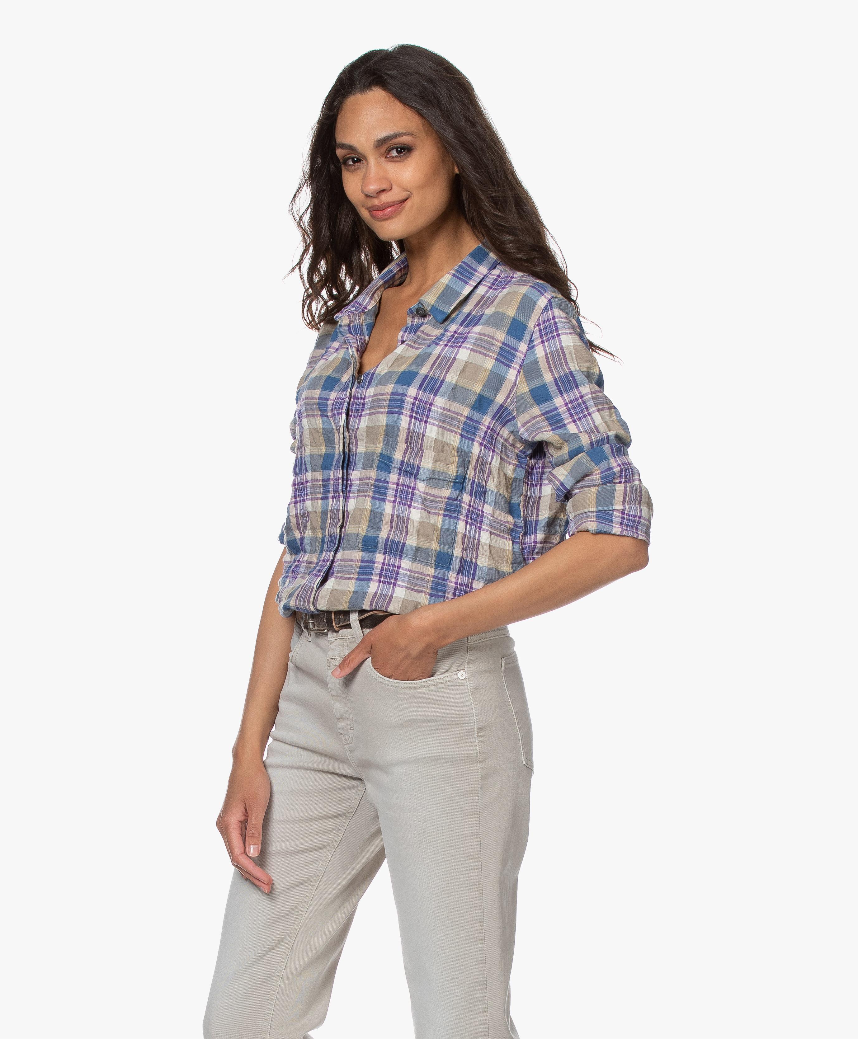 foto de Closed Hailey Checkered Shirt - Multi-color - c94899-21e-20 882 ...