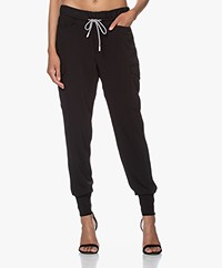 Closed Jade Tech Utility Pants - Black