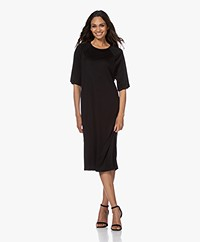 Filippa K Mira Lyocell T-shirt Dress - Black