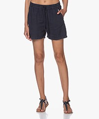 Josephine & Co Brigit Linen Shorts - Navy