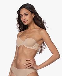 Calvin Klein Lightly Lined Strapless Bra - Bare