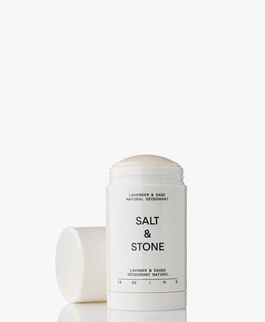 Salt & Stone Natural Deodorant Stick - Lavender & Sage