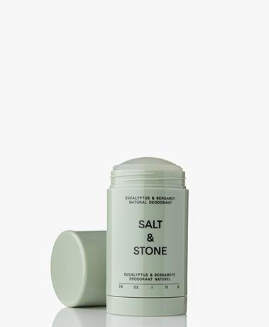 Salt & Stone Natuurlijke Sensitive Deodorant Stick - Eucalyptus & Bergamot