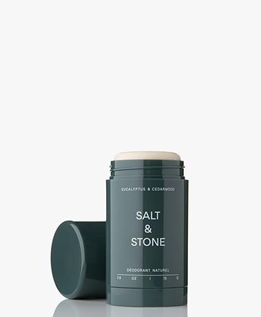 Salt & Stone Natuurlijke Deodorant Stick - Eucalyptus & Cedarwood