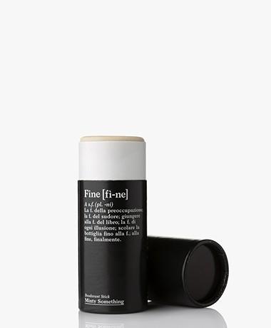fine Verzorgende Deodorant Stick - Minty Something