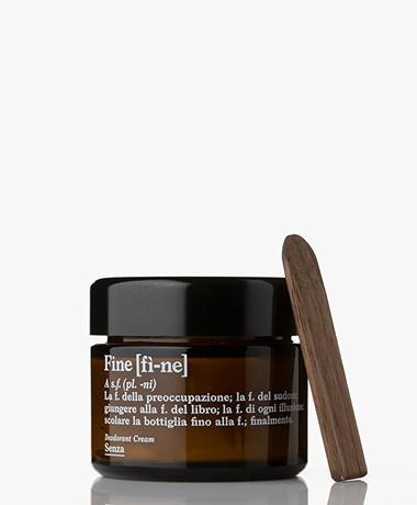 fine Crème Deodorant Jar - Senza Geurloos 50g