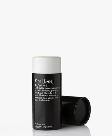 fine Verzorgende Deodorant Stick - Ginster Origanum