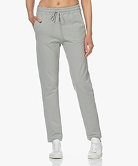 no man's land Katoenen French Terry Sweatpants - Sage