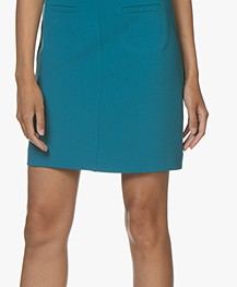 no man's land Viscose Mini Rok - Lagoon
