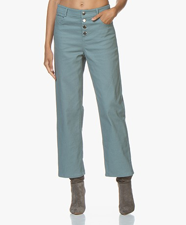 Marie Sixtine Andrea Straight-leg Jeans - Brume