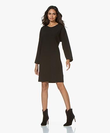 filippa k crepe pleat dress