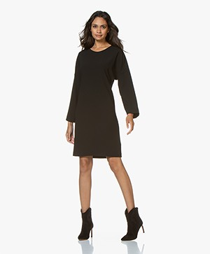 Filippa K Meghan Crepe Dress - Black
