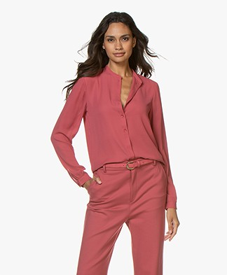 Filippa K Adele Blouse - Raspberry