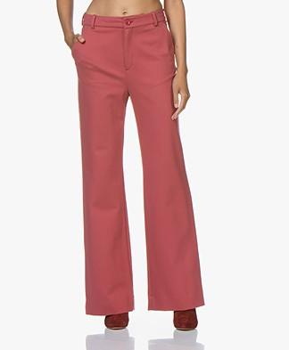 Filippa K Ivy Jersey Pantalon - Raspberry