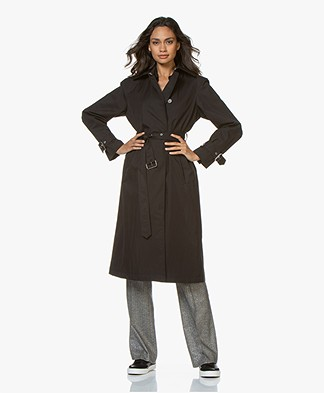 Filippa K Tamara Trenchcoat - Black