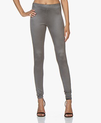 Woman by Earn Whitney Suedine Legging - Grijs