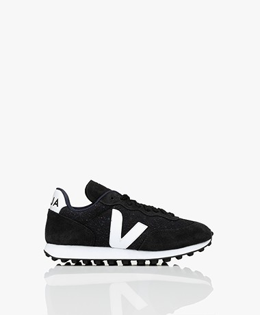 VEJA Rio Branco Flanel Sneakers - Blauw/Zwart/Wit