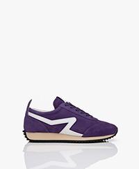 Rag & Bone Suede Retro Runner Sneakers - Blue Violet