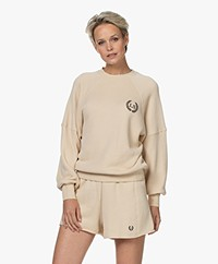 Love Stories Skye French Terry Sweater - Off-white