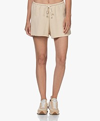 Love Stories Becky French Terry Shorts - Off-white