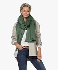 Alpaca Loca Handgemaakte Uni Sjaal in Alpaca - Mint Green