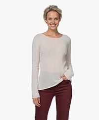 Belluna Rosine Fine Knitted Cashmere Sweater - Sand