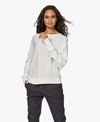 Drykorn Geli Silk Blend Sweater - Ecru
