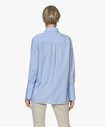 Joseph Mason Chambray Shirt - Blue
