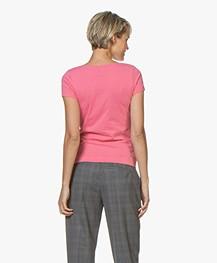 Josephine & Co Charl Katoenen T-shirt - Roze