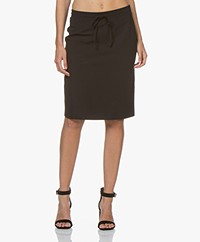 Josephine & Co Roy Travel Jersey Skirt - Black