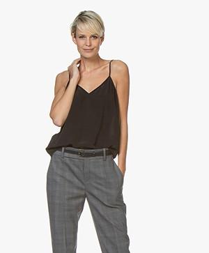 Equipment Layla Silk Camisole - Black