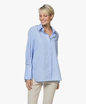 Joseph Mason Chambray Shirt - Blue