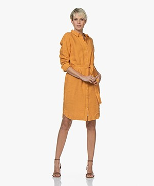 Josephine & Co Cato Shirt Dress - Golden Yellow