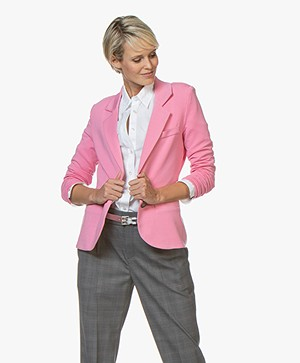 Repeat Tailored Jersey Blazer - Pink