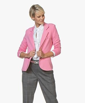 Repeat Getailleerde Jersey Blazer - Roze
