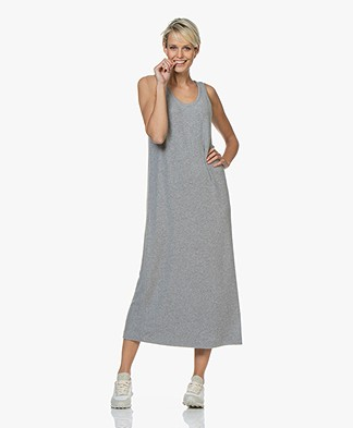 American Vintage Vetington Sleeveless Maxi Dress - Grey Melange